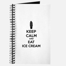 Keep calm and eat ice cream Journal