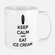 Keep calm and eat ice cream Mug