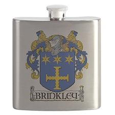 Brinkley Coat of Arms Flask