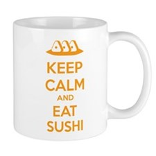 Keep calm and eat sushi Mug
