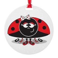 Little Ladybug Ornament (Round)