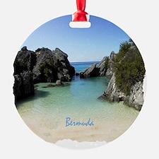 Bermuda Beach Cove - Gift Ornament Ornament
