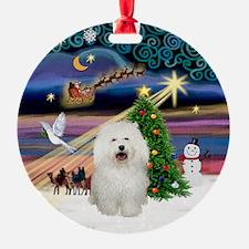Xmas Magic Bolognese Ornament (Round)