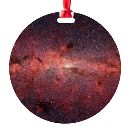 Milky Way Galaxy Center Ornament (Round)
