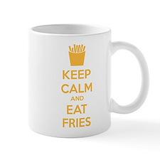 Keep calm and eat fries Mug