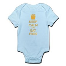 Keep calm and eat fries Infant Bodysuit