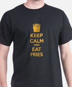Keep calm and eat fries T-Shirt