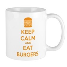 Keep calm and eat burgers Mug