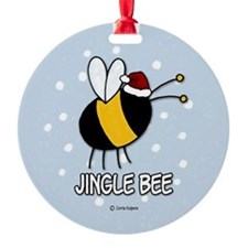 jingle bee Ornament (Round)