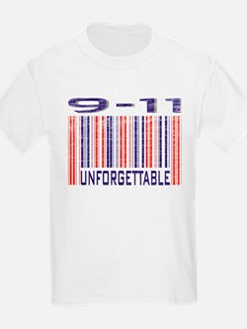 9-11 Unforgettable September 11th T-Shirt