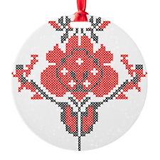 Kvetka Ornament (Round)