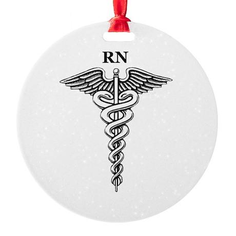 Registered Nurse Ornament (Round)