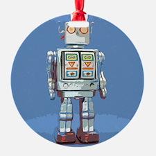 Robot Ornament (Round)