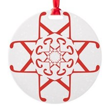 U Karotkaye Rutchnik Ornament (Round)
