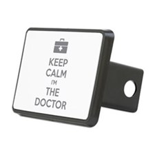 Keep calm I'm the doctor Hitch Cover