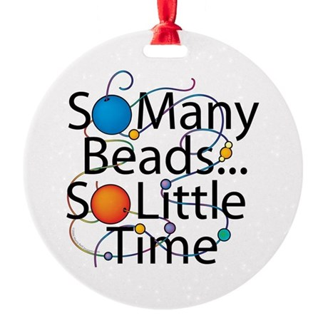 So Many Beads.... Ornament (Round)