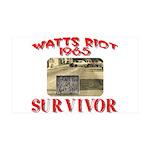 1965 Watts Riot Survivor 35x21 Wall Decal