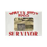 1965 Watts Riot Survivor Rectangle Magnet (100 pac
