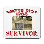 1965 Watts Riot Survivor Mousepad