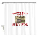 1965 Watts Riot Survivor Shower Curtain