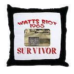 1965 Watts Riot Survivor Throw Pillow