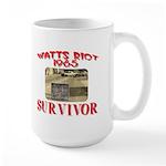 1965 Watts Riot Survivor Large Mug