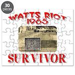 1965 Watts Riot Survivor Puzzle