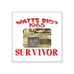 1965 Watts Riot Survivor Square Sticker 3