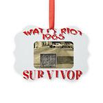 1965 Watts Riot Survivor Picture Ornament