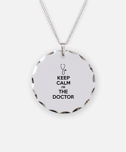 Keep calm I'm the doctor Necklace