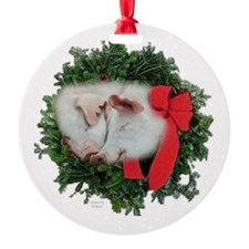 Pigs Ornament (Round)