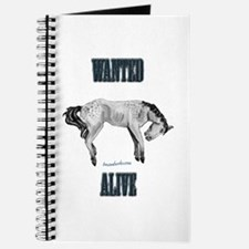 Mustang: Wanted Alive Journal