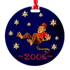 NEW! Falling Monkey Ornament