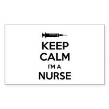 Keep calm I'm a nurse Decal