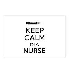 Keep calm I'm a nurse Postcards (Package of 8)