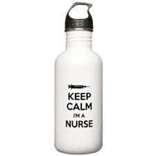 Keep calm I'm a nurse Water Bottle