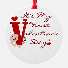 Baby Valentine 1st Valentine's Day Keepsake