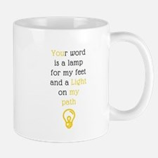 your word is a lamp Mugs