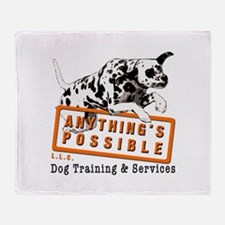 Anything's Possible LLC Throw Blanket