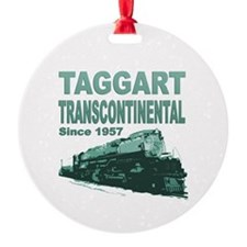 Taggart Transcontinental Ornament (Round)