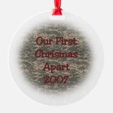 2007 First Apart Ornament (Round)