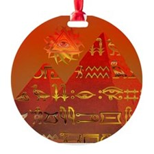 Egyptian Skies Ornament (Round)