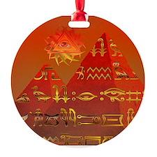Egyptian Skies Ornament (Round)