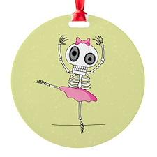Skeleton Ballerina Ornament