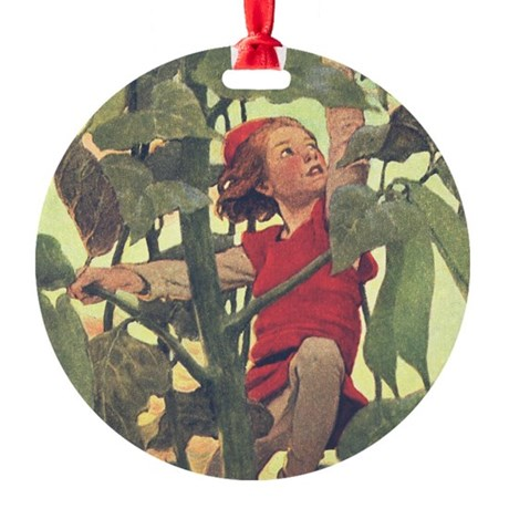 Smith's Jack & Beanstalk Ornament (Round)