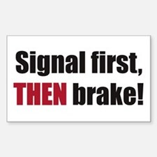 Signal first Decal