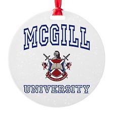 MCGILL University Ornament (Round)