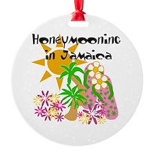 Honeymoon Jamaica Ornament (Round)