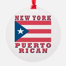 New York Puerto Rican Ornament (Round)