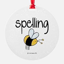 Spelling Bee II Ornament (Round)